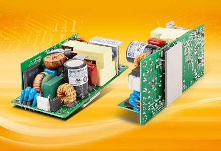 "New 2x4"" industrial power supplies for conduction cooling certifed to safety standard IEC/EN/UL 62368-1"