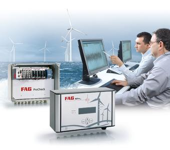 With online condition monitoring, the costs for maintenance can be reduced and the availability of wind turbines increased (Image: Schaeffler)