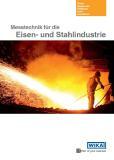 Broschüre für die Stahlindustrie: Messtechnik auf einen Blick