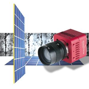 Photonfocus EL1-D1312 Camera for Solar Cell Inspection