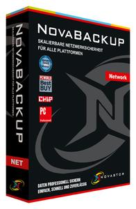 NovaBACKUP Network protects heterogeneous IT environments.