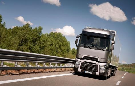 Das Flaggschiff von Renault Trucks ist der Renault Trucks T High Sleeper Cab aus der Fernverkehrsbaureihe