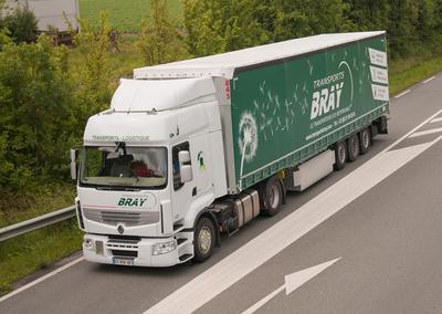Transports Bray: Mit fast 100 Fahrzeugen europaweit auf Achse