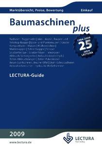 Cover Baumaschinen PLUS