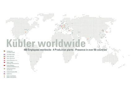 Kübler Weltkarte