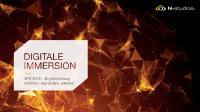 [PDF] Pressemitteilung: SPS IPC Drives 2018: hl-studios ermöglicht digitales Eintauchen