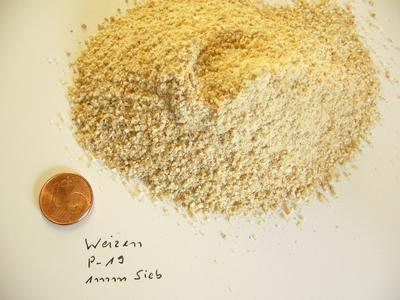 A convincing result: comminution of wheat down to 1 mm with the Cutting Mill PULVERISETTE 19