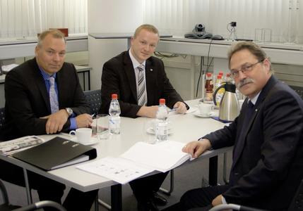Torsten Ussing, Christian Linthaler and Dieter Dallmeier