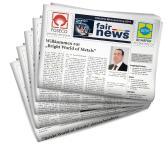 "DVS Media realisiert die offizielle Messezeitung ""fair news"""