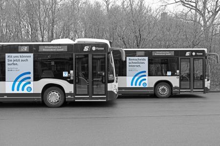 Busse der Stadtwerke Remscheid (© M. Mandt)