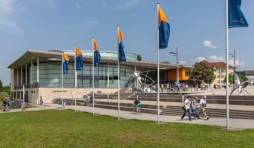 Die Technische Universität Ilmenau / © TU Ilmenau/Michael Reichel