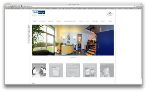 Neue Homepage überzeugt mit Klarheit und Transparenz bei Inhalten und Design