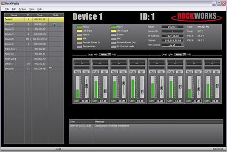 Riedel Presents RockNet MADI Interface and RockWorks 1.6 At NAMM '10