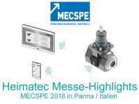 Heimatec Messe-Highlights, MECSPE, Parma 2018