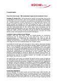 [PDF] Pressemitteilung: Rise of the Silver-Society - Mit konsistentem Design zum komfortableren Kochen