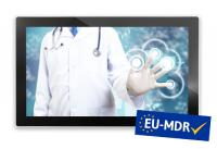 Canvys 15,6 inch monitor certified and prepared for Medical Device Regulation (as of May 2021)
