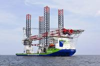 A new milestone for AREVA Wind with the inauguration of the new jack up vessel INNOVATION