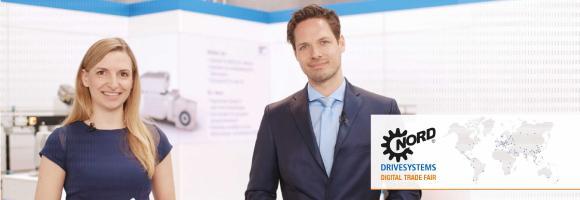 Vom 12. bis 16. April verstärkt NORD DRIVESYSTEMS mit der NORD Digital Trade Fair 2021 im Rahmen der Hannover Messe seine virtuelle Präsenz.
