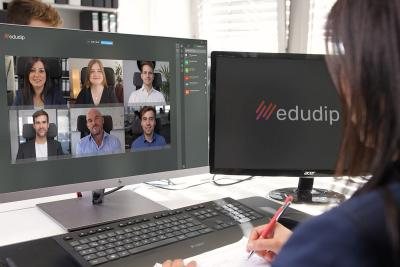 Webinar-Software edudip next startet neue Meeting-Funktion
