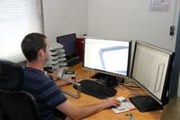 Thomas Brummer Maschinenbau: Mit dem CAM-System CAMWorks von Geovision erreicht Brummer im 3D-Fräsen kürzere Bearbeitungszeiten (Bildrechte: Thomas Brummer Maschinenbau, Rosenheim)