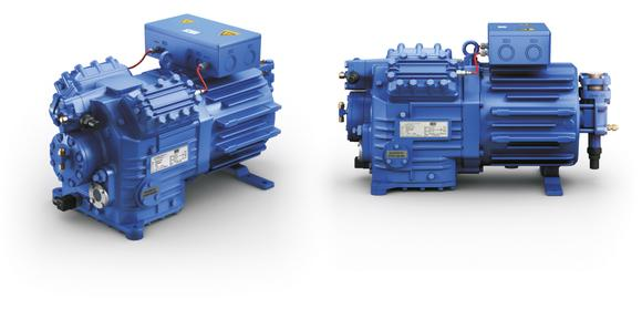 Bock HG4...HC - Halbhermetischer 4-Zylinder Verdichter für den Einsatz von Kohlenwasserstoffen als