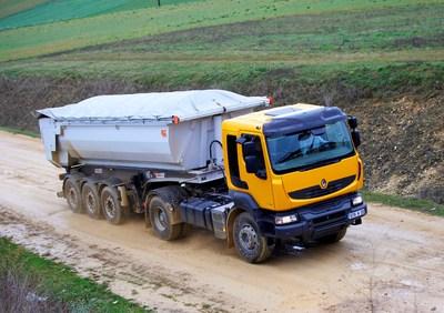 Das Optifuel Programm eignet sich auch für Fahrzeuge zur Baustellenbelieferung