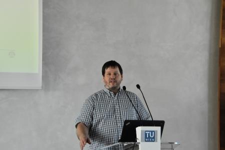 Peter Lieber bei der Eröffnung des CDL-MINT am 22. Mai 2017