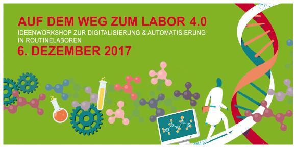 Ideenworkshop zur Digitalisierung und Automatisierung in Routinelaboren – Auf dem Weg zum Labor 4.0, Grafik P3N MARKETING GMBH