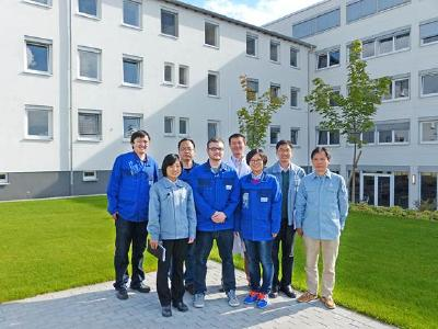 SINOPEC RIPP researchers together with hte's project team
