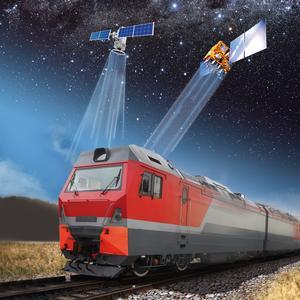 Satellitengestützte Positionsbestimmung von Schienenfahrzeugen / Bildquelle: Berner & Mattner Systemtechnik GmbH