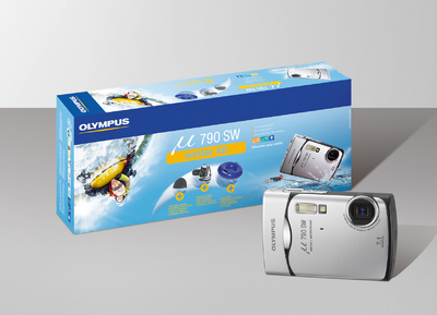Das exklusive Olympus µ 790 SW Winter Kit