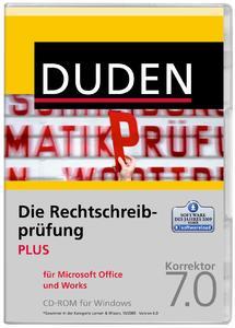 Rechtschreibprüfung MS Office und Works Plus   7.0