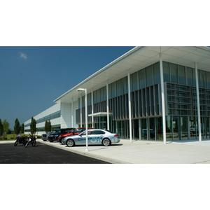 """BMW of North America's expanded """"South Campus"""" facility, located in Woodcliff Lake, New Jersey, more than doubles the size of BMW Group's U.S. headquarters. Pictured: Eastern Region and Training Center"""