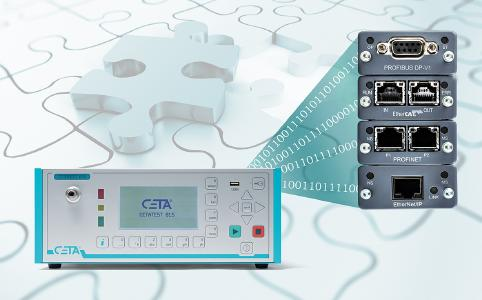 CETA test devices have a great variety of industrial interfaces for Industry 4.0