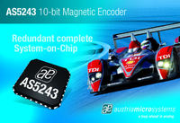 austriamicrosystems supplies AS5243, the redundant 10-bit magnetic angular position IC, to MEGA-Line RACING ELECTRONICS and Audi R10 for the Le Mans 24 Hours 2008