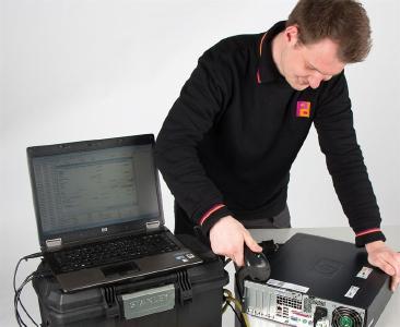 Piepenbrock prüft elektrische Betriebsmittel bei der Hertz Autovermietung