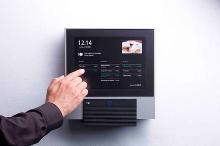 Der INTUS 6200 Industrie PC von PCS im Einsatz in der Kantine