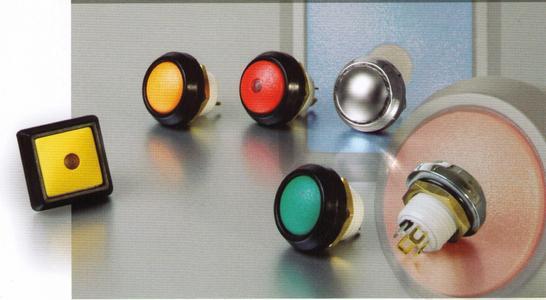 ITW Hall-Effect Taster mit hoher Ausfallsicherheit - IP67