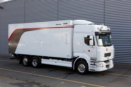 Premium Route-Fahrgestell im Sauber Team-Design