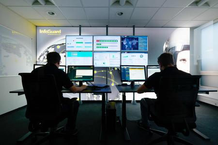 InfoGuard Cyber Defence Center