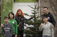 Freut sich über einen Weihnachtsbaum: der KoCa Jugendclub Berlin