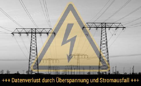 Datenverlust durch Überspannung, DATARECOVERY® Datenrettung, Foto: Fotolia.de