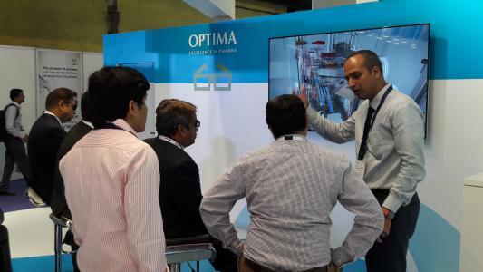 Optima Pharma will be showing new and highly flexible machines using 3D
