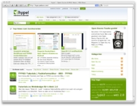 hype! – Neues Community-Portal zu Web 2.0, Open Source TYPO3 und Mac