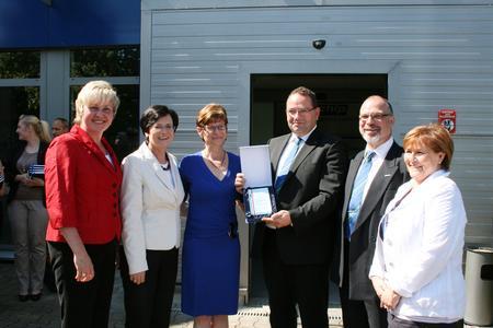 Thüringer Ministerpräsidentin besuchte bluechip