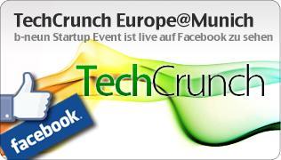 contentforce produziert auf dem TechCrunch Munich Startup Event