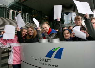 Girls' Day bei Toll Collect