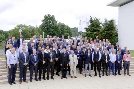 Rittal Partner Summit IT: More than 40 partners from all over Europe came to the first Rittal Partner Summit IT in Herborn on 28 and 29 June 2017 (Source: Rittal GmbH & Co. KG)