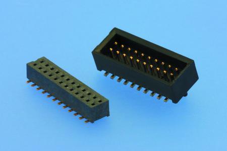 W+P Mini-Wannenstiftleiste im Raster 1,0 mm