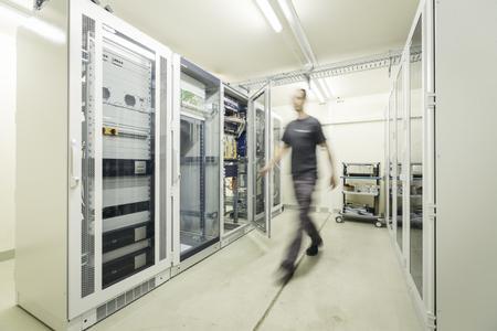 High-Tech pur: Einer von rund 500 primacom Netzknotenpunkten